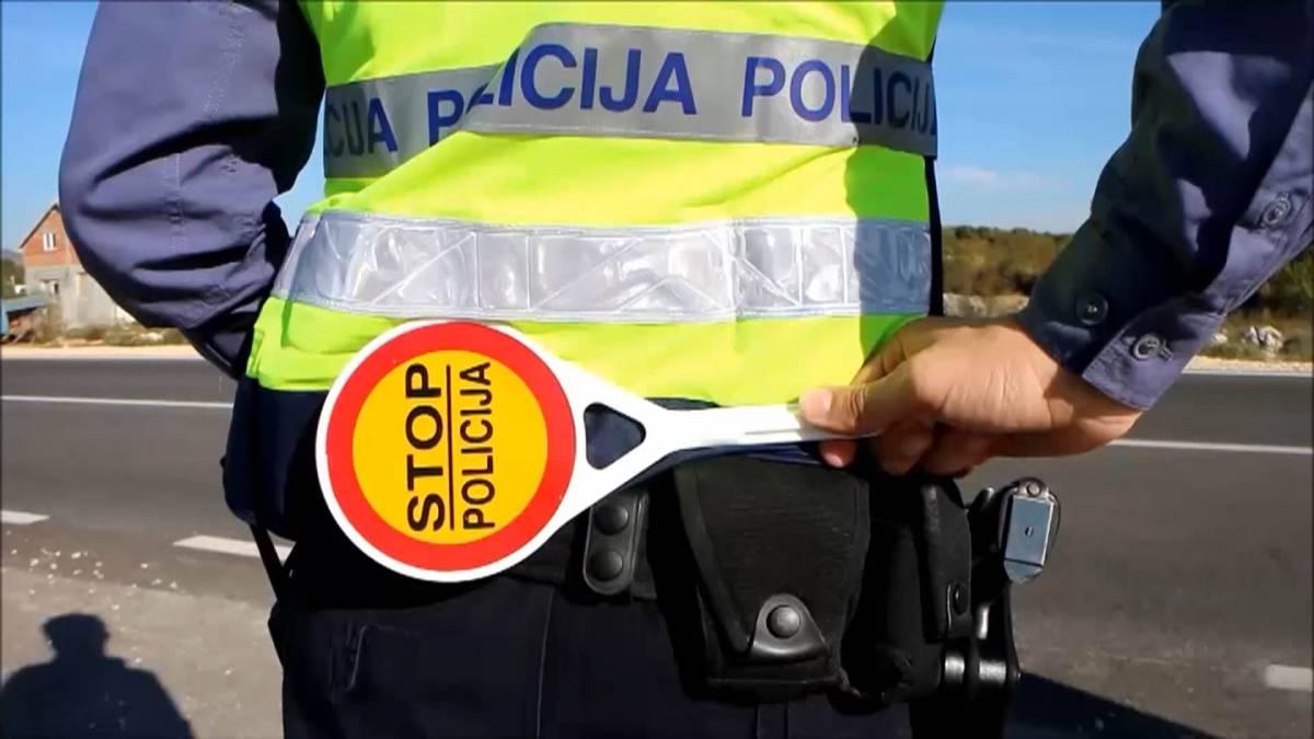 Policija i ovog vikenda nastavlja s pojačanim nadzorom u prometu