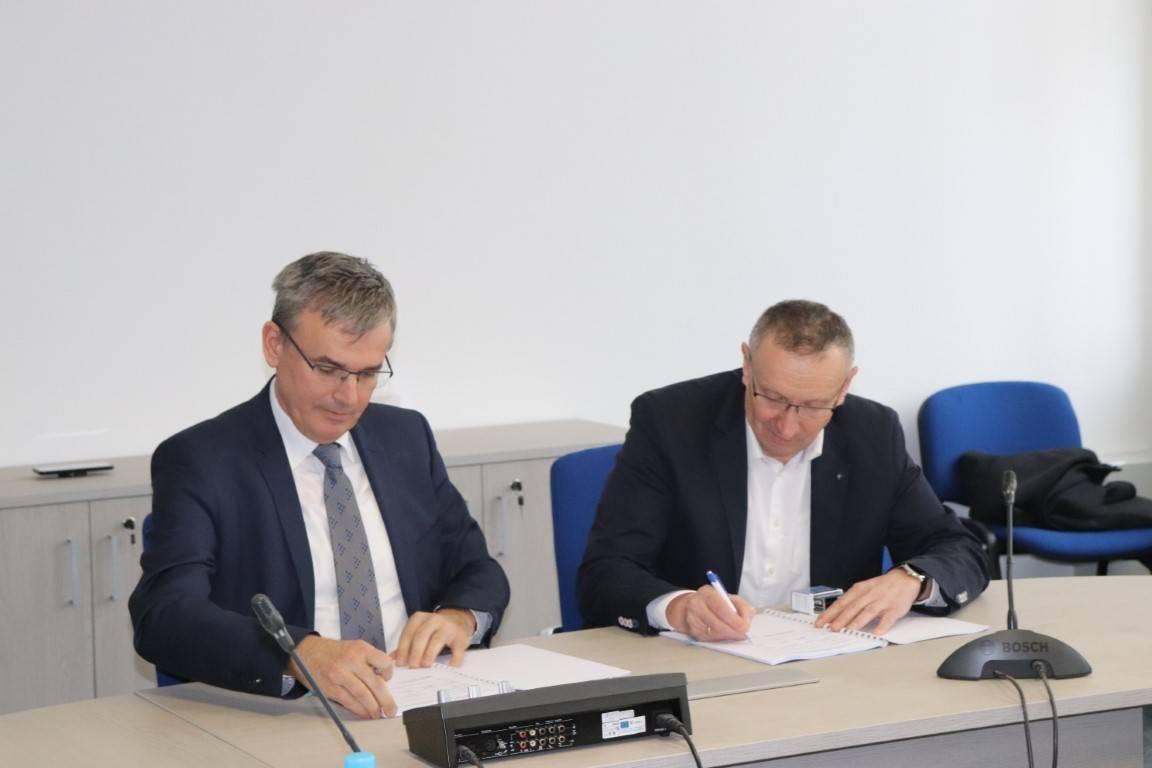 Potpisan ugovor sa slovenskom tvrtkom Gorenjska gradbena družba d.d., izvođačem radova na projektu aglomeracije Lipika i Pakraca