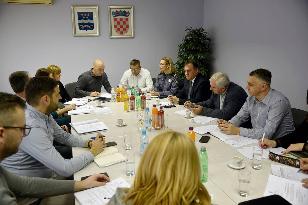 Održana sjednica županijskog vijeća za prevenciju kriminaliteta