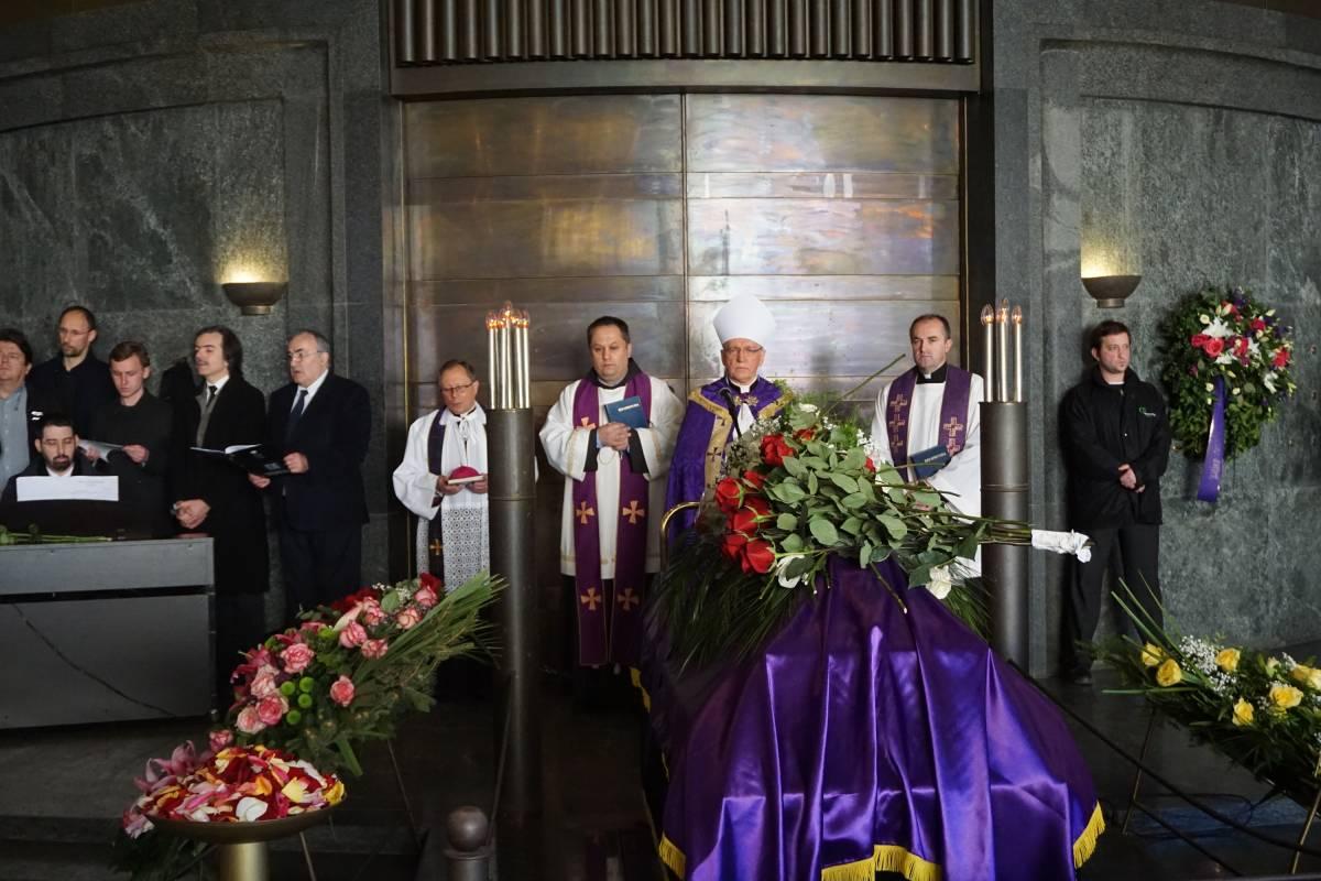 Slikovni rezultat za Sprovod maestra Vladimira Kranjčevića