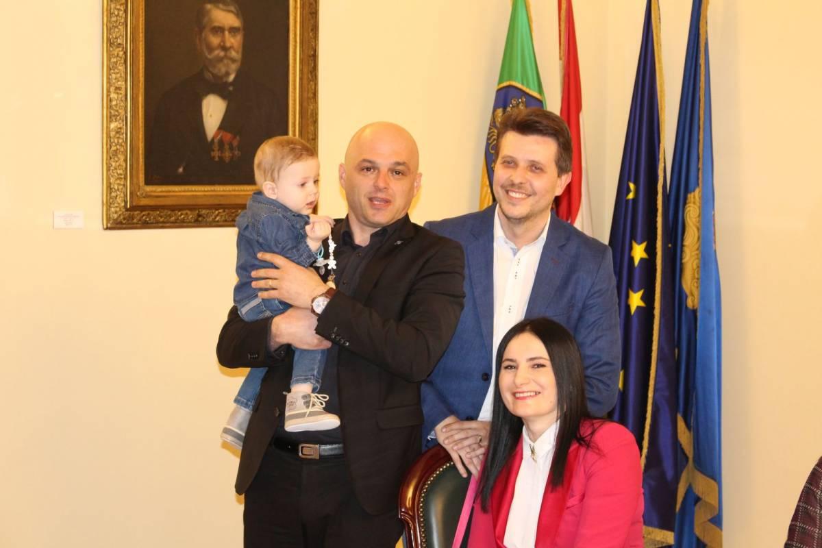 Prijem beba kod gradonačelnika Puljašića 17.2.2020.
