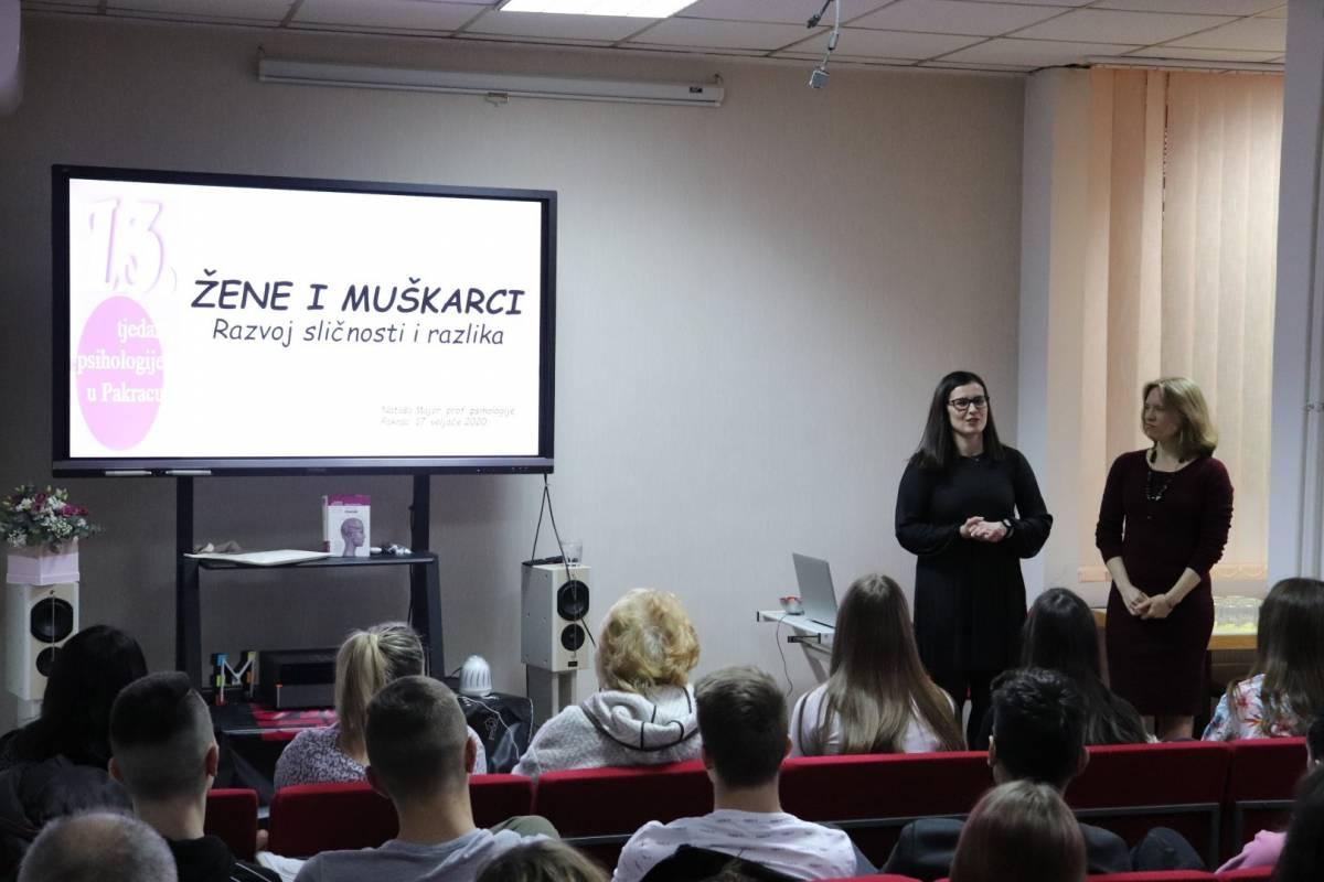 Predavanje o razvoju i izvoru sličnosti i razlika među spolovima u Pakracu