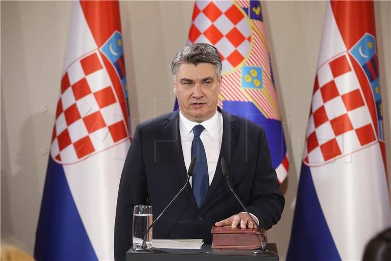 IMAMO PREDSJEDNIKA: Zoran Milanović prisegnuo za predsjednika Republike Hrvatske
