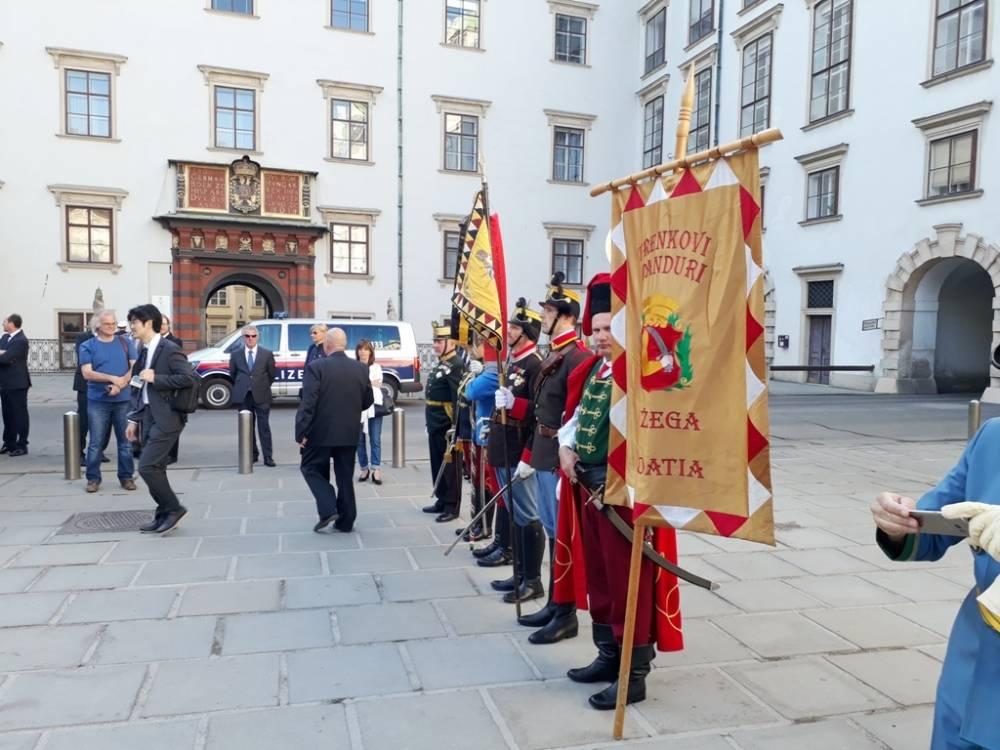 Trenkovi panduri sudjelovali u obilježavanju 100. obljetnice viteškog reda Sv. Jurja u Beču