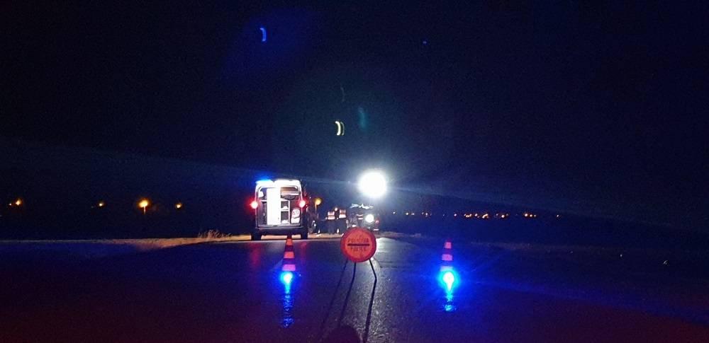 Sinoćnju prometnu nesreću kod Velike uzrokovao smrtno stradali vozač (21)