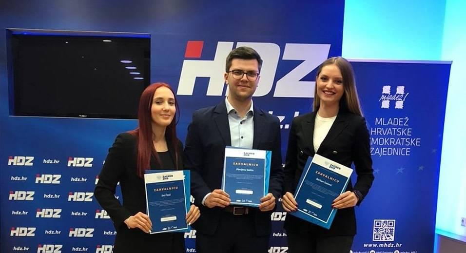 Zahvalnice od Andreja Plenkovića dobili i članovi Mladeži HDZ-a Brodsko-posavske županije