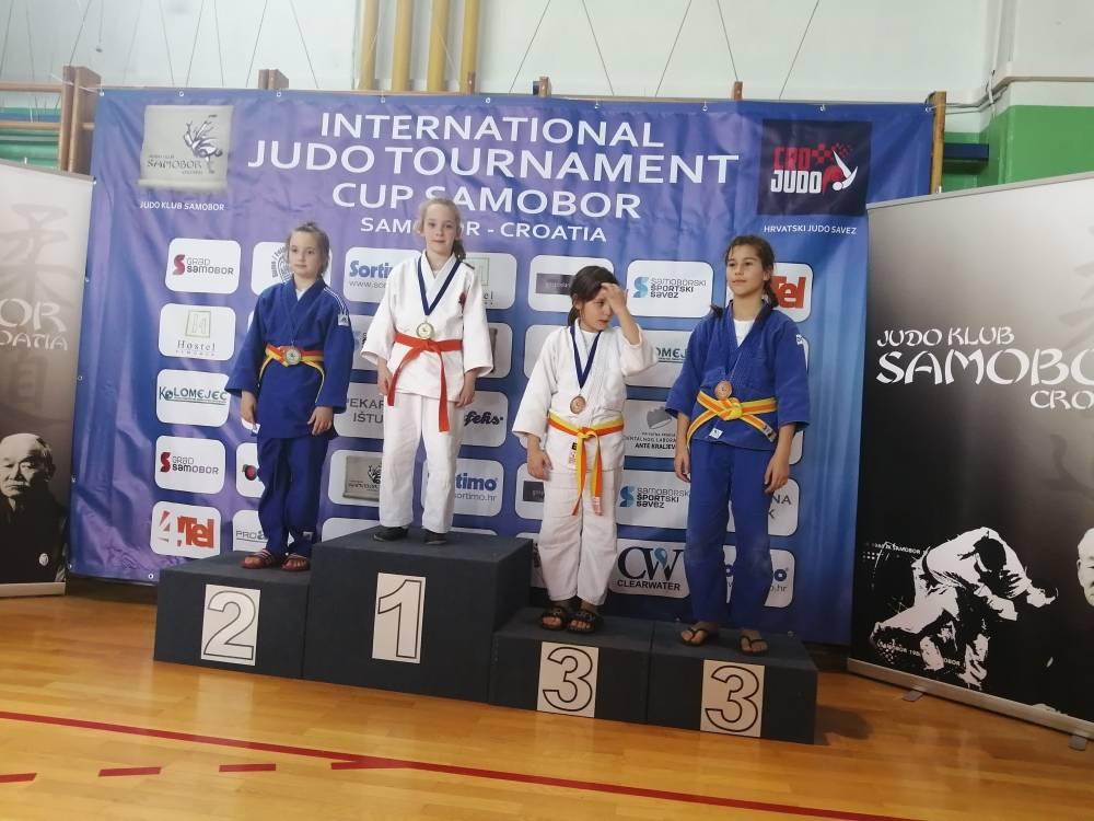 Judašica Ivona Bošnjak za samo 24 sekunde osvojila zlatnu medalju u Samoboru