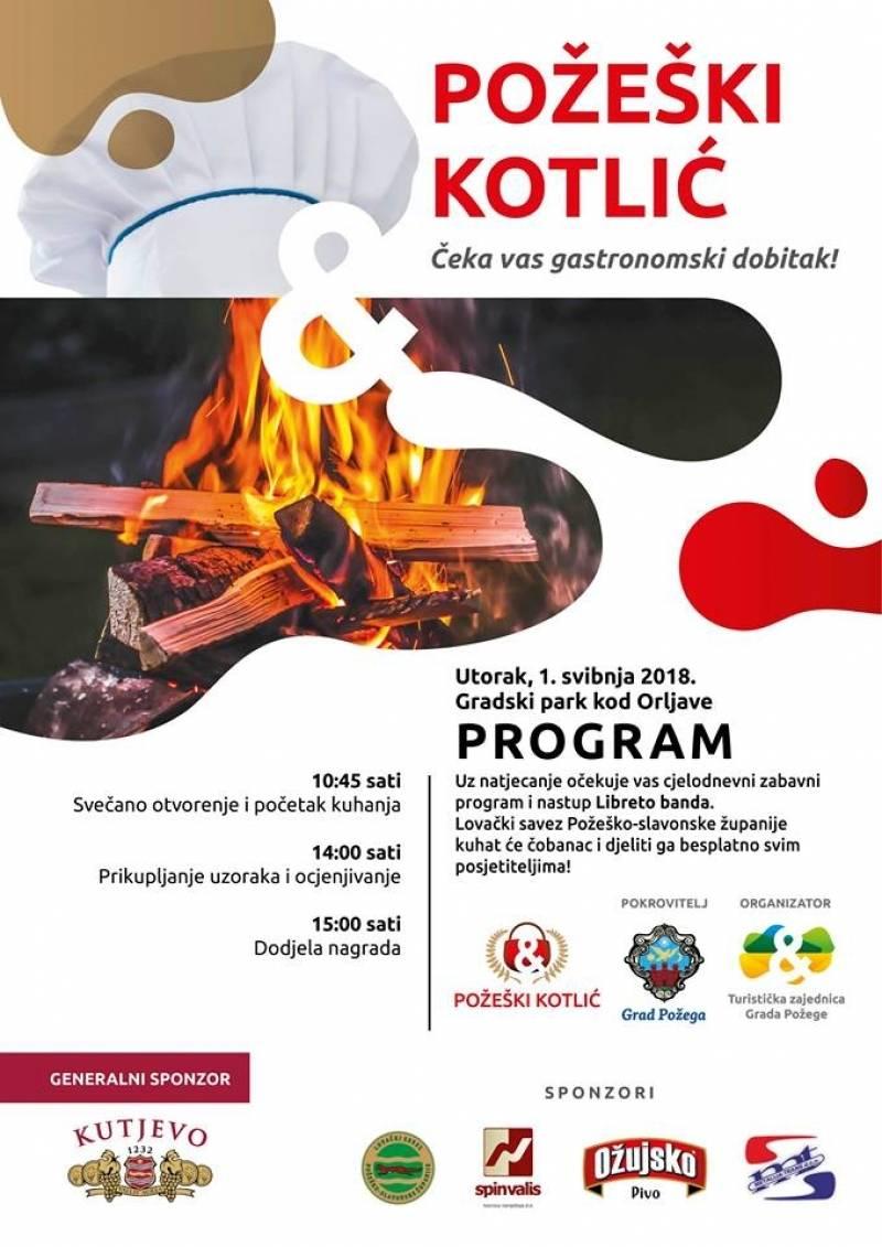Natjecanje u kuhanju čobanca 1. svibnja u Zvečevačkom parku