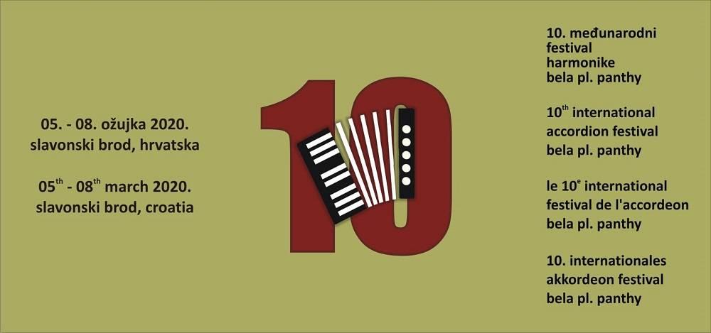 Ovaj vikend svoja vrata otvara 10. jubilarni međunarodni festival harmonike Bela pl. Panthy