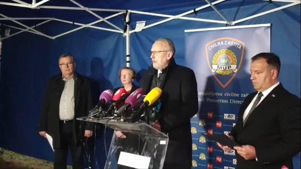 Četiri nova slučaja, Božinović: Od sutra mjere o zatvaranju, trajat će 30 dana