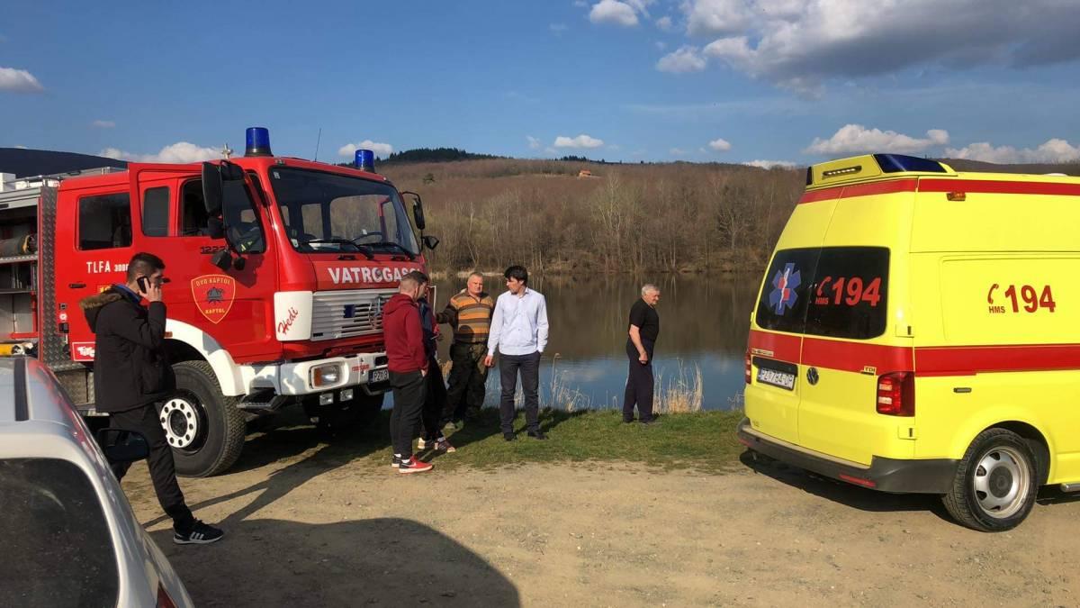 KAPTOL I GOLO BRDO ZAVIJENI U CRNO: U jezeru se utopilo dijete od 14 godina iz Golog Brda