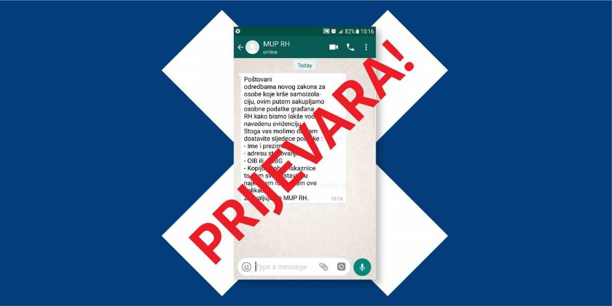 MUP uputio važno upozorenje građanima: Ne dajte osobne podatke preko mobilnih aplikacija