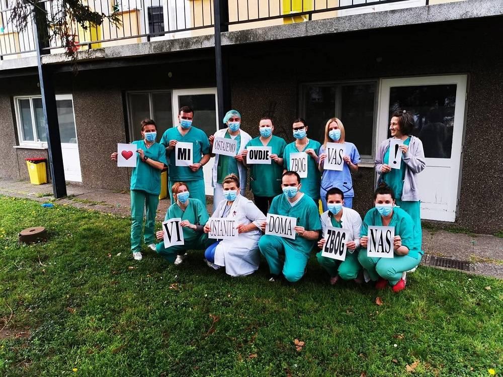 Ekipa s brodske infektologije poslala poruku