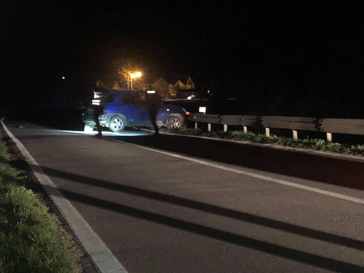 Prometna nesreća kod Pleternice, jedna osoba prevezena u OŽB Požega