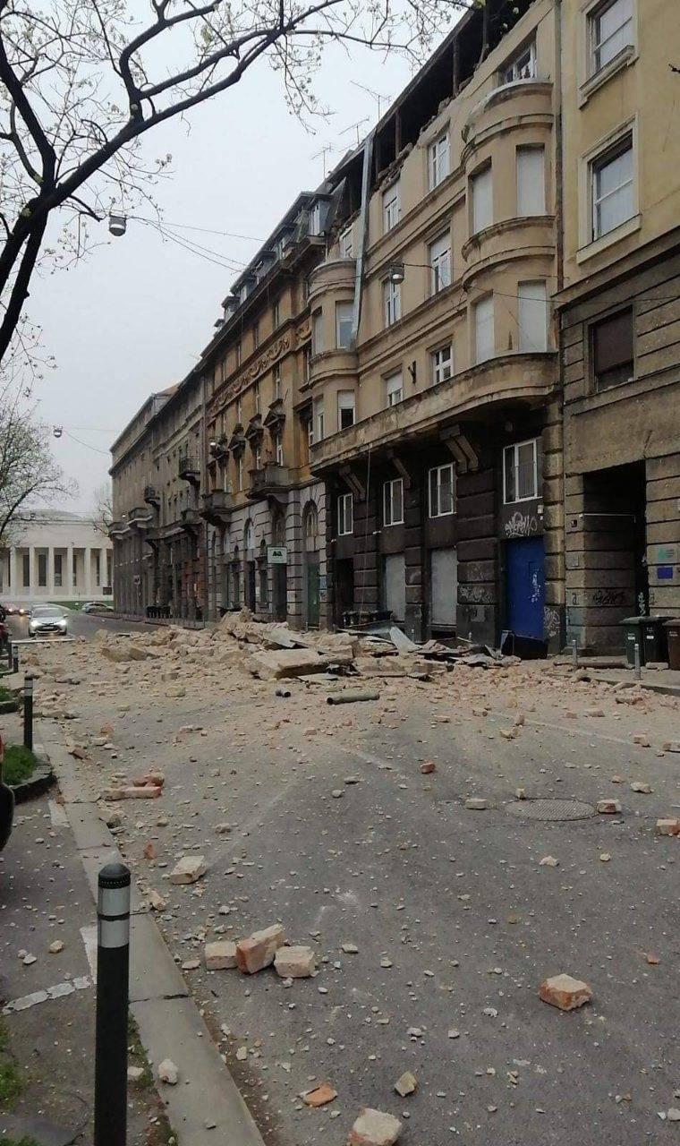 Video Pogledajte Kako Je Izgledao Trenutak Potresa U Zagrebu