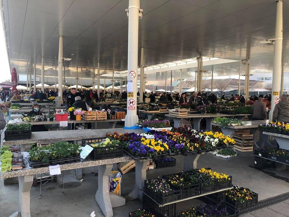 Nacionalni Stožer donio Odluku o iznimnom dopuštenju rada za određene vrste tržnica i objekata unutar tržnica