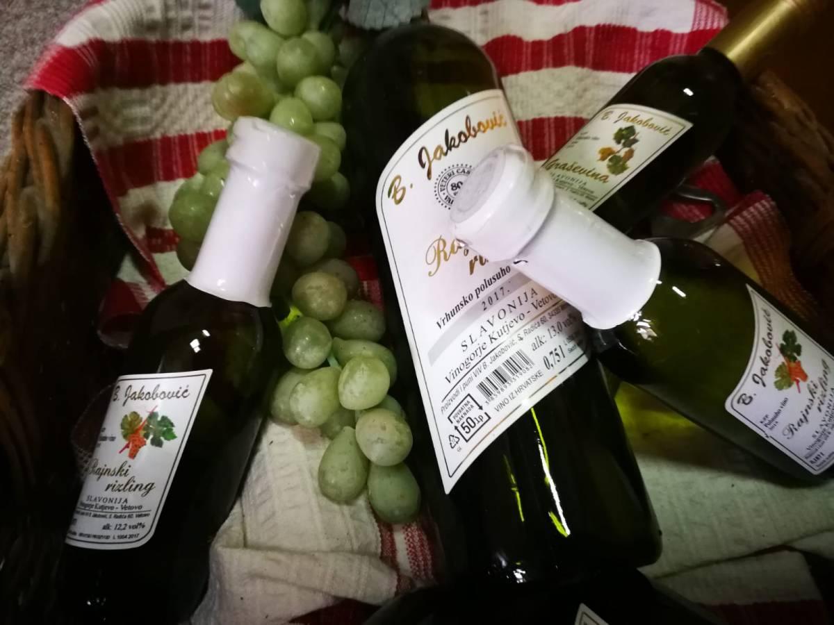 Prosječna potrošnja vina po stanovniku u Hrvatskoj iznosi 22 litre