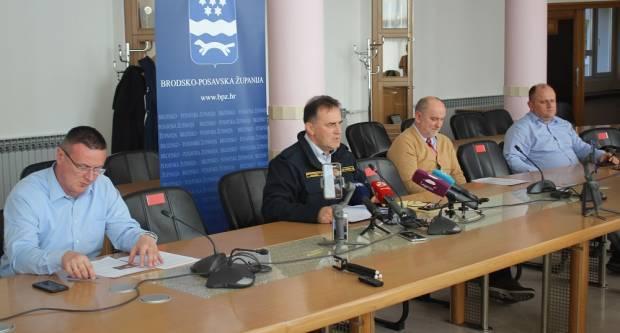 U 12 sati izvanredna konferencija za medije Stožera CZ Brodsko-posavske županije