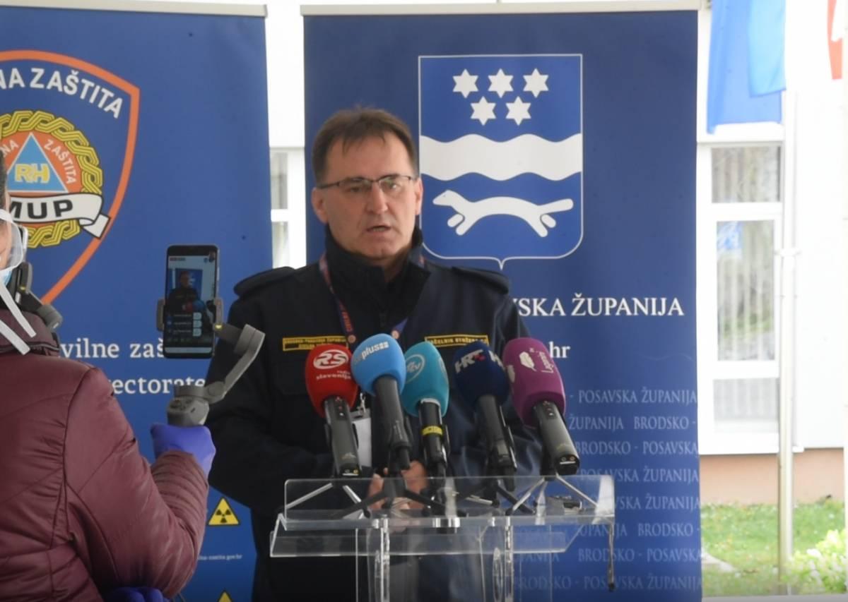 U 12 sati konferencija za medije Stožera CZ Brodsko-posavske županije