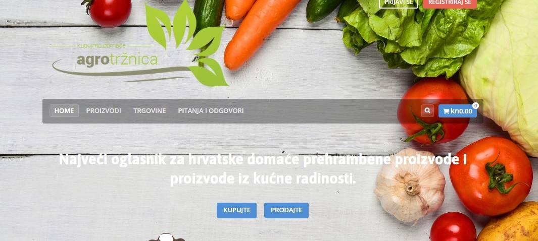 NOVOST: Virtualna tržnica na kojoj OPG-ovci besplatno reklamiraju i prodaju svoje proizvode