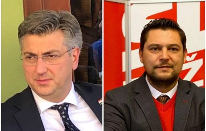 Sretan rođendan premijeru Andreju Plenkoviću i predsjedniku požeškog SDP-a Ivanu Vlahoviću
