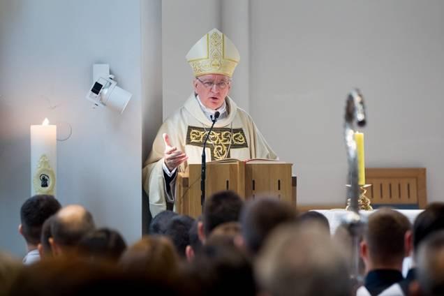 Pismo biskupa Škvorčevića bogoslovima Požeške biskupije