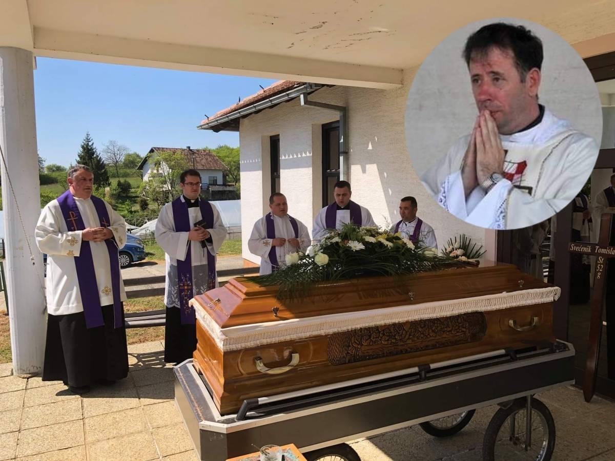 Održan sprovod svećenika Tomislava Vučura
