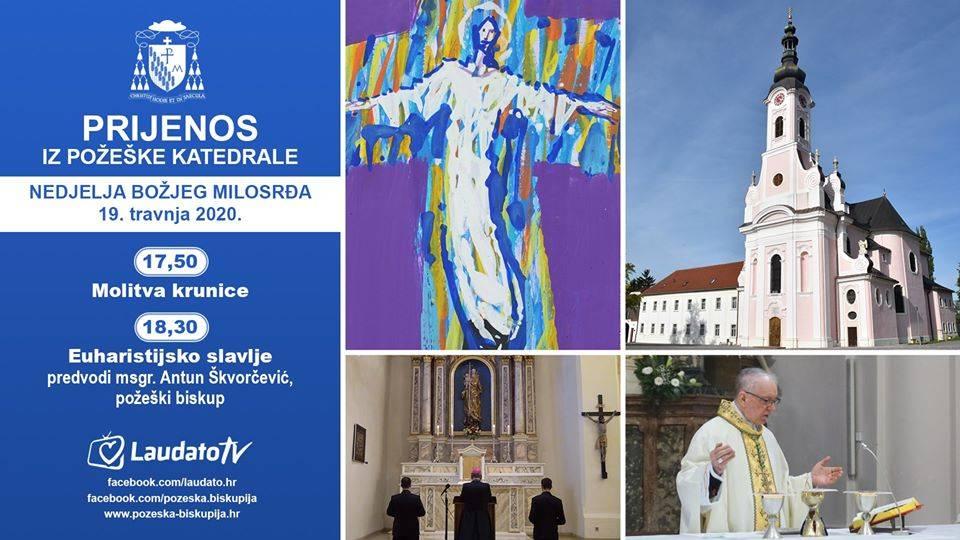 Nedjelja Božjeg milosrđa u požeškoj Katedrali