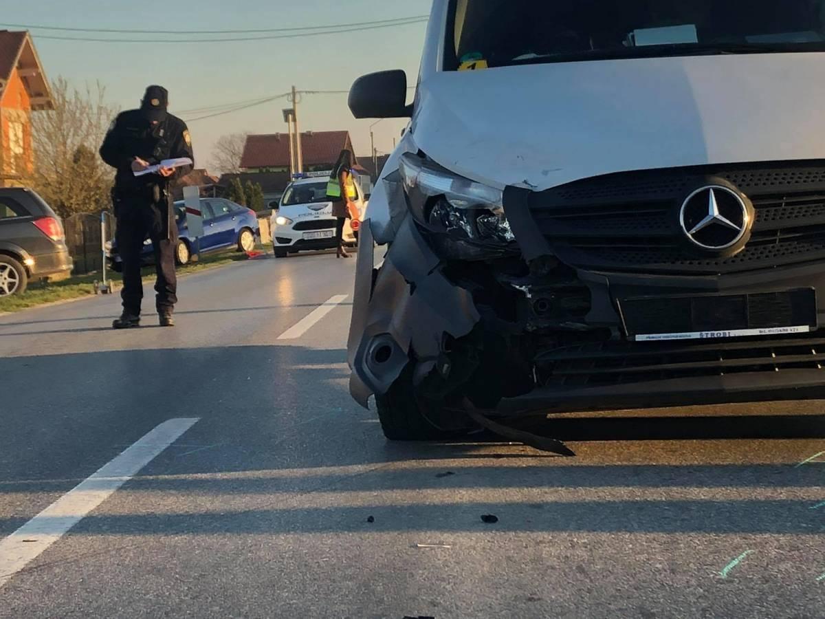 Prilikom slijetanja vozila teško ozlijeđena vozačica