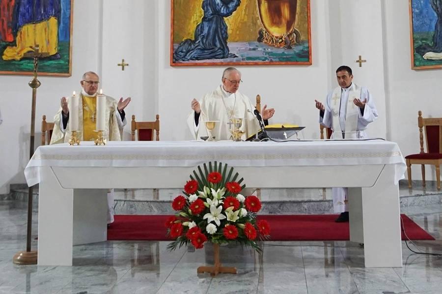 Prigodom 25. obljetnice VRO  »Bljesak« požeški biskup Škvorčević predvodio euharistijsko slavlje u Okučanima