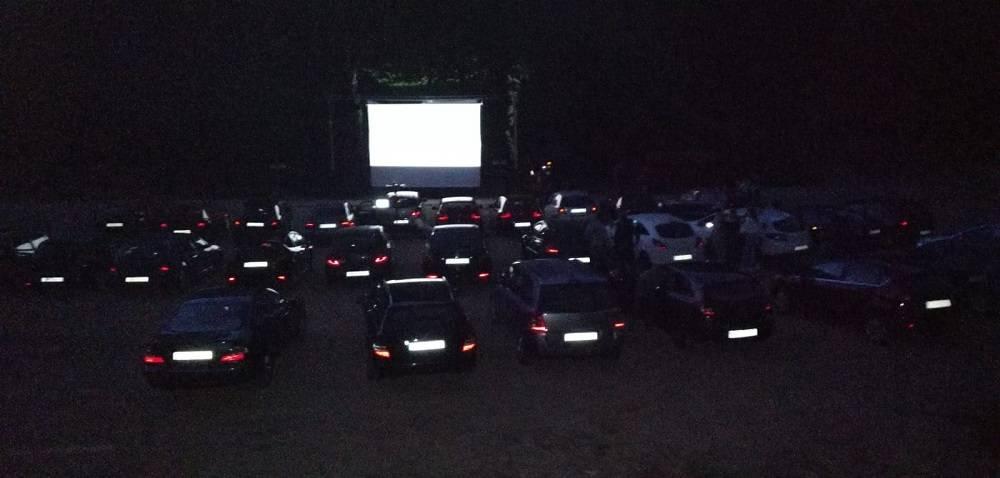 Kino u prirodi, održano prvo drive-in kino u našoj županiji