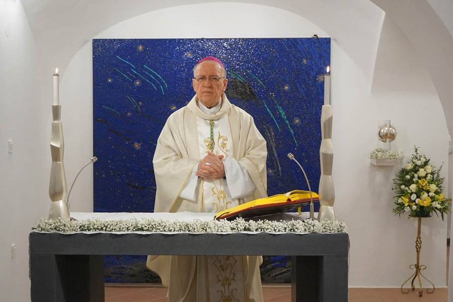 Biskup Škvorčević predvodio zahvalno euharistijsko slavlje prigodom stotog rođendana sv. Ivana Pavla II.