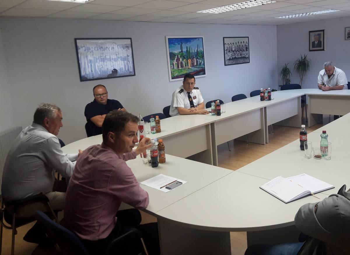 Stožer civilne zaštite Općine Velika održao sastanak