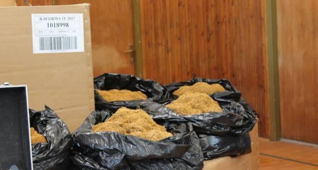 Pronađeno i oduzeto ukupno 6.2 kilograma duhana bez nadzornih markica