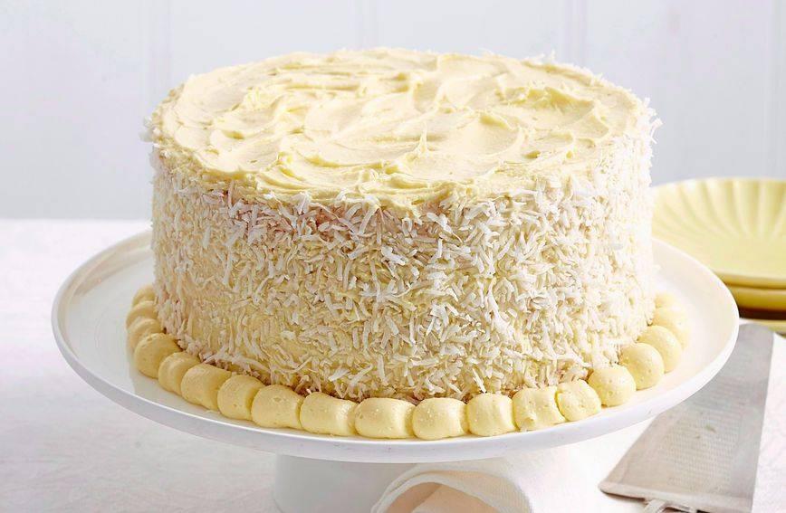 Savršen recept za tortu s kokosom i bijelom čokoladom