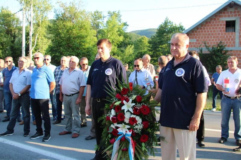 U Kamenskoj obilježena 29. godišnjica prvog sukoba policije s agresorom 1991. godine