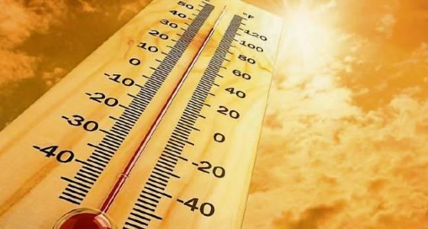 Današnja najviša temperatura zraka između 30 i 33 °C