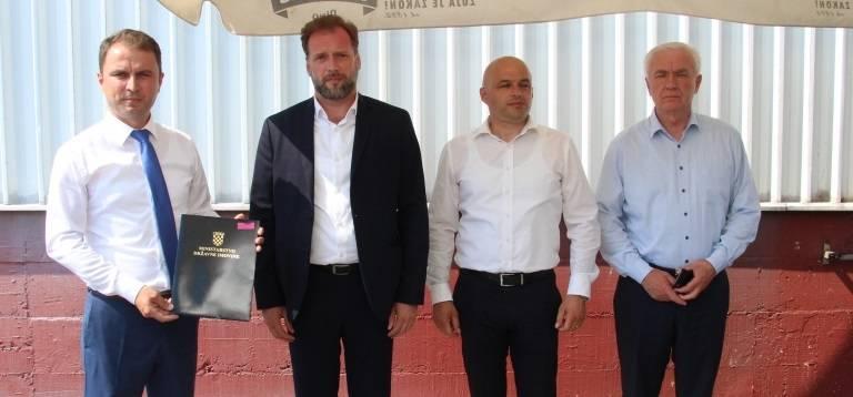 Općini Velika darovana hala i zemljište bivše Orljave vrijedno 4,6 milijuna za buduću Poduzetničku zonu