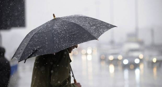 Danas promjenljivo oblačno, povremeno s kišom