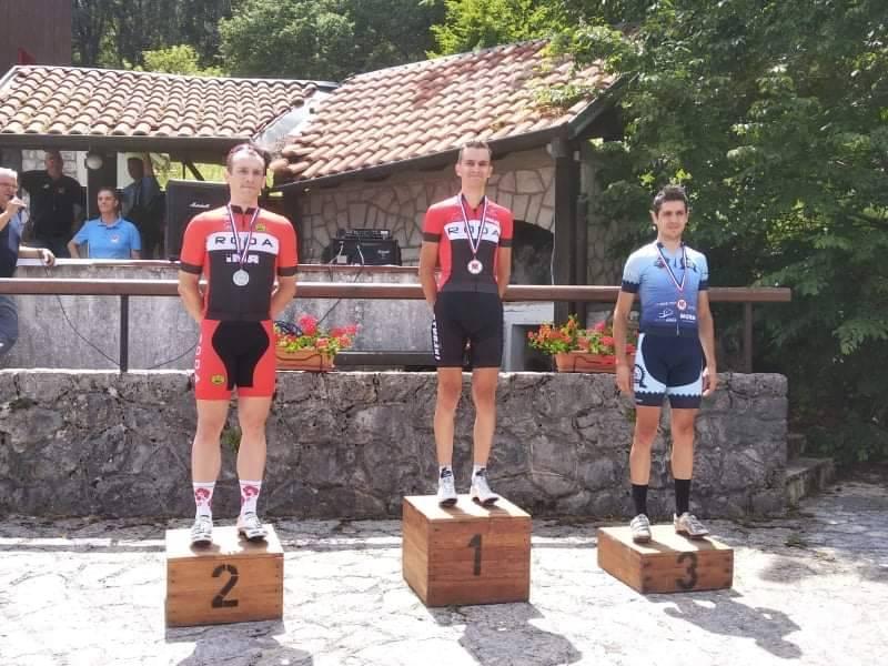 Matej Skuzin 3. na prvenstvu Hrvatske u cestovnom usponu u kategoriji elite