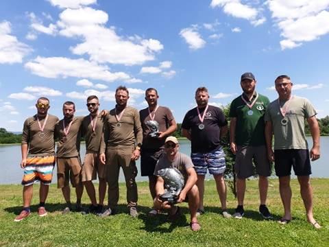 Četvrti šaranski kup u Turniću trajao 51 sat, ulovljeno ukupno 1.492,93 kg ribe