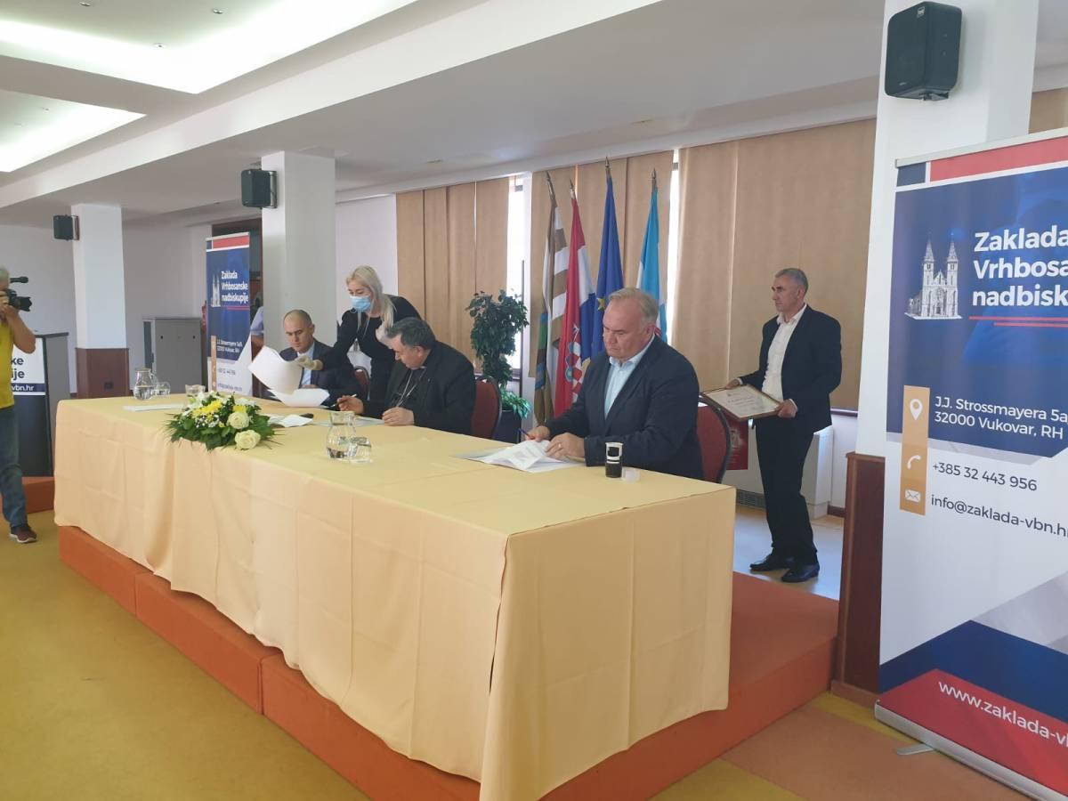 Grad Požega pristupio članstvu Zaklade Vrhbosanske nadbiskupije