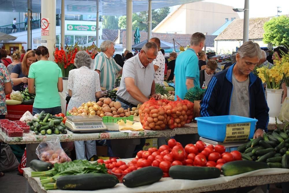 Domaće i svježe, raznolika ponuda i ove subote na tržnici
