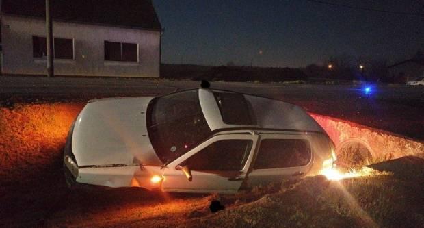 Jučer oko 2 ujutro došlo je do prometne nesreće koju je prouzrokovao 52-godišnjak s 2,57 promila