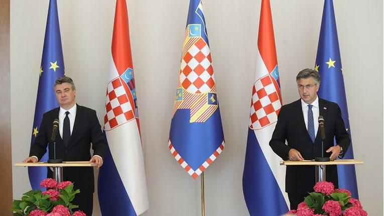 Plenković i Milanović se obratili javnosti. Plenković: Imat ćemo 16 ministarstava