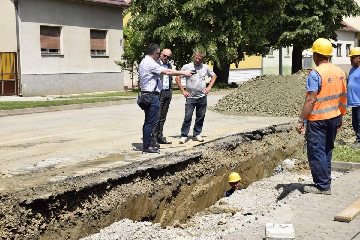 Aglomeracija Požega – u tijeku su radovi u ulicama Zrinskoj, Sokolovoj i Pavla Radića