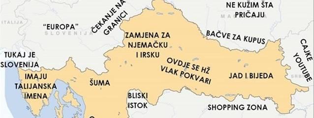 Razočarani Slavonac opisao hrvatske regije, ali i regije susjednih država
