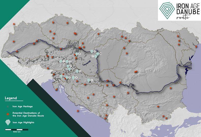 Park prirode Papuk član europske Udruge Staza željeznog doba Podunavlja