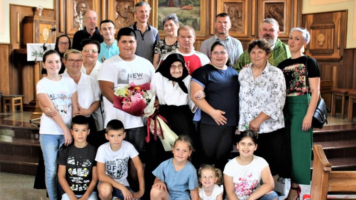 Slavonka Ana Stipanović na blagdan sv. Ane proslavila 103. rođendan