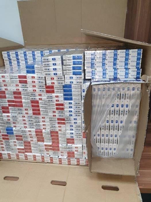 Slavonski policajci pronašli i zaplijenili više od milijun i pol kutija cigareta